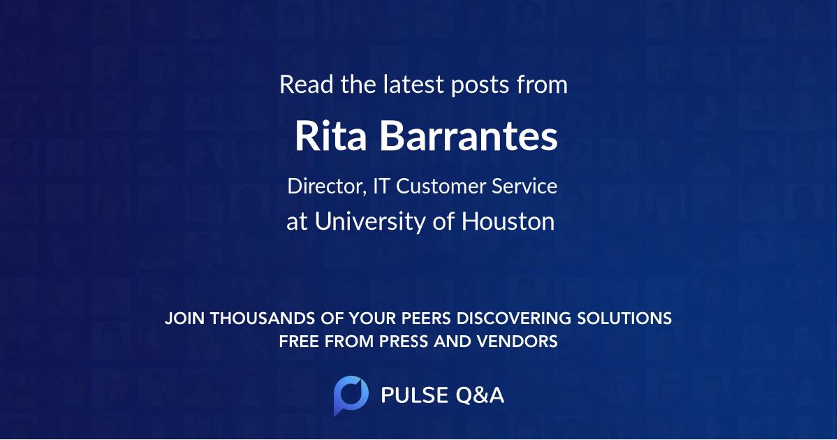 Rita Barrantes
