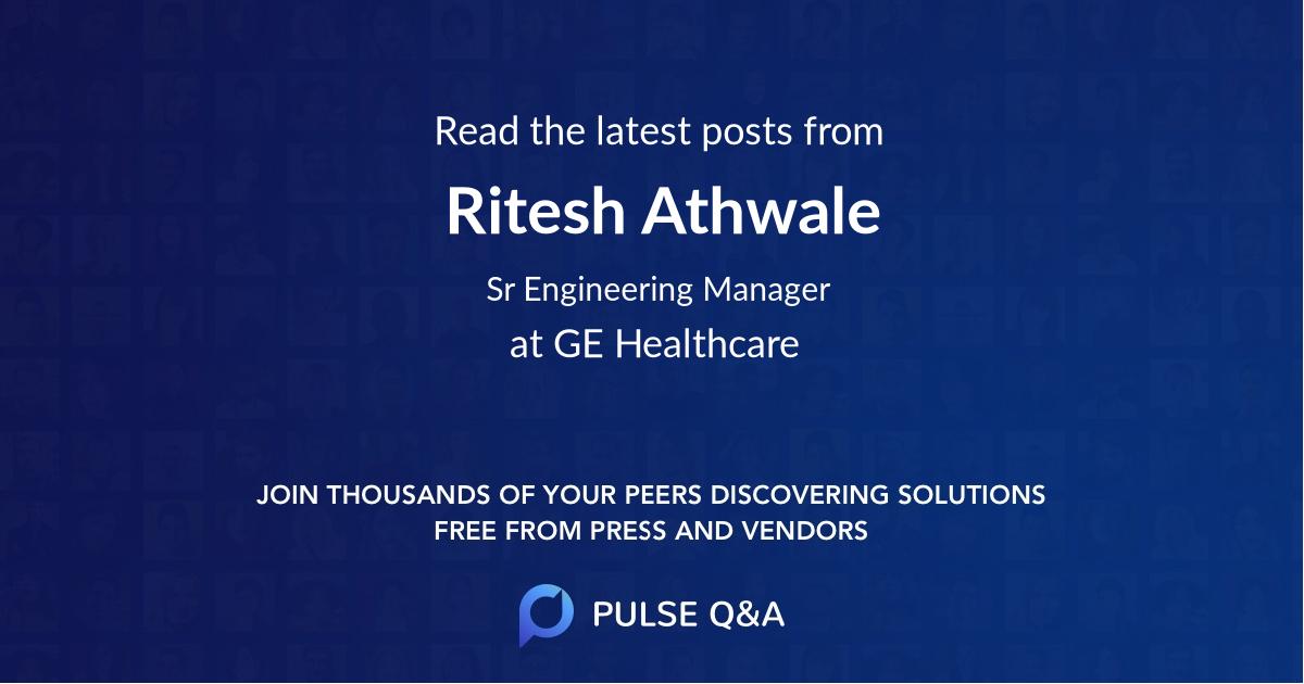 Ritesh Athwale