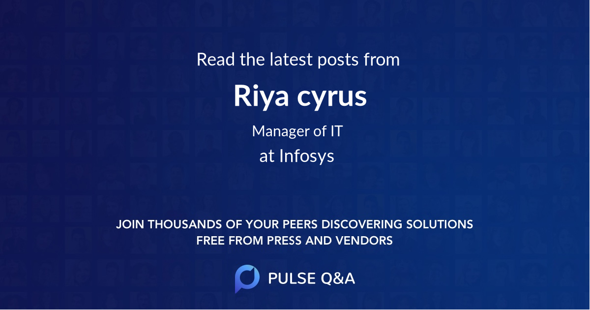 Riya cyrus