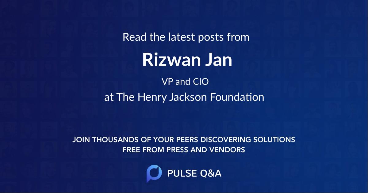Rizwan Jan