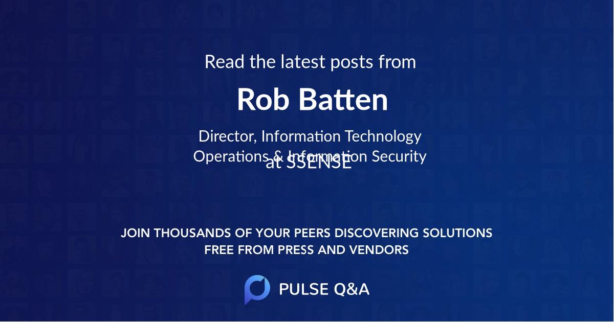 Rob Batten