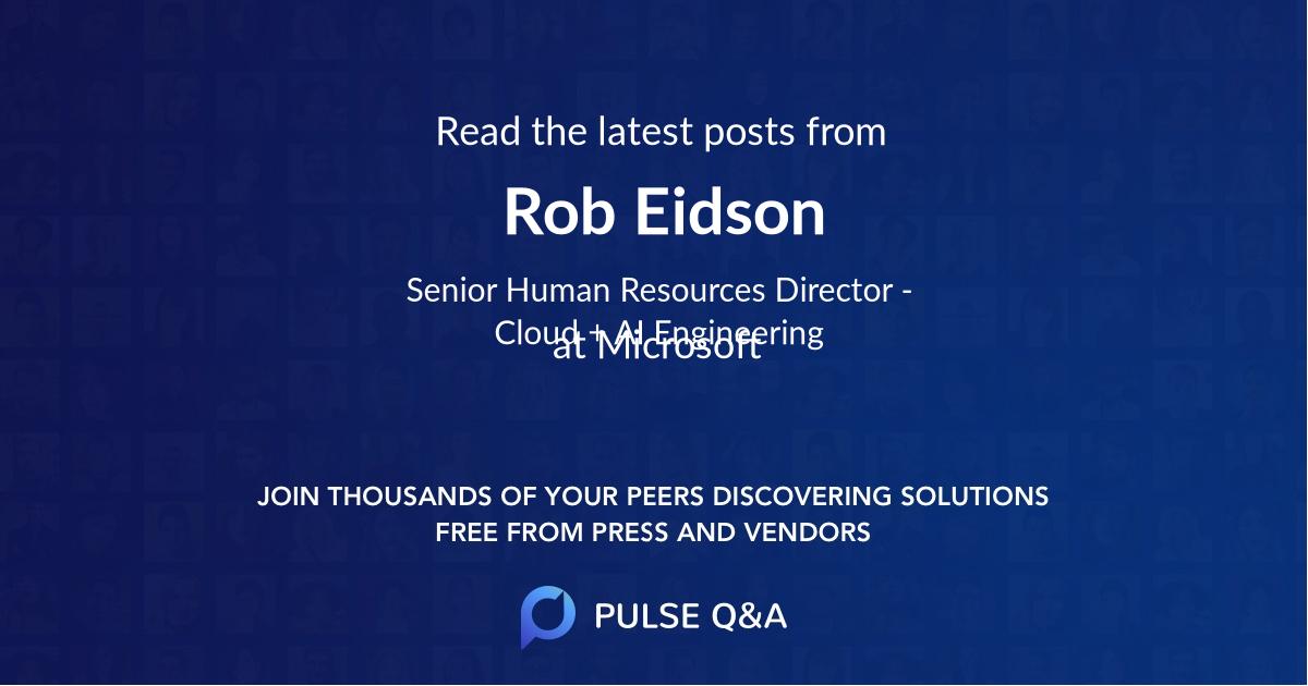 Rob Eidson