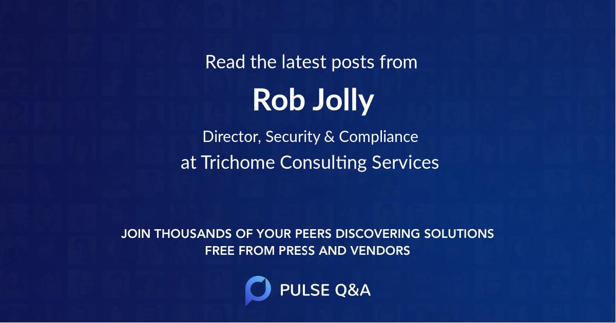 Rob Jolly