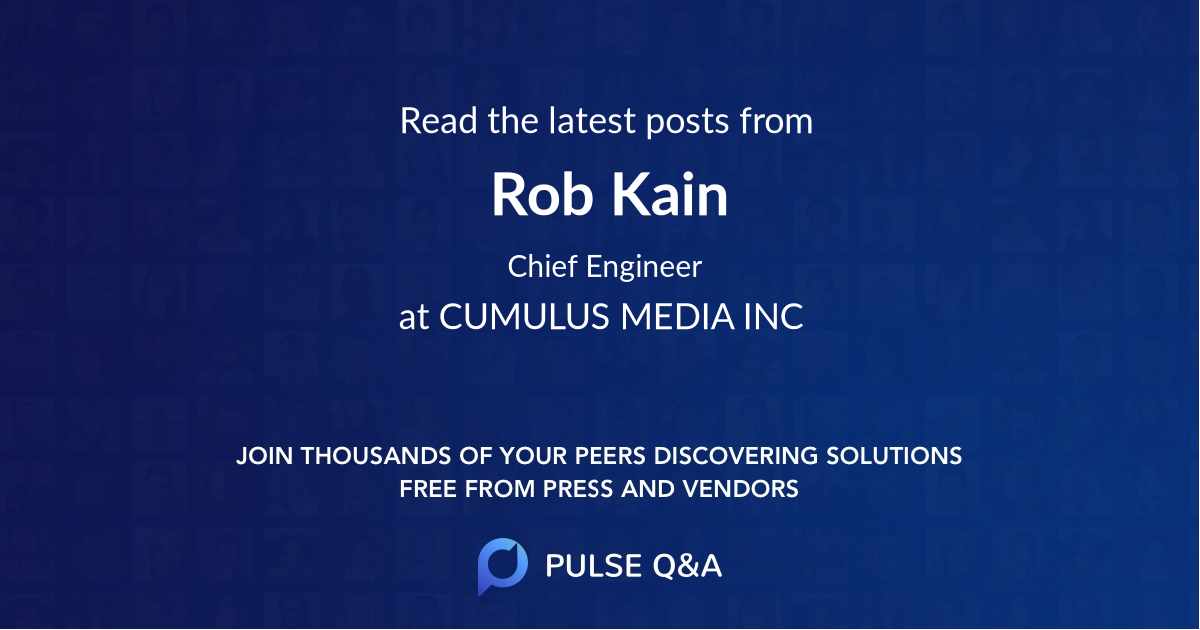 Rob Kain