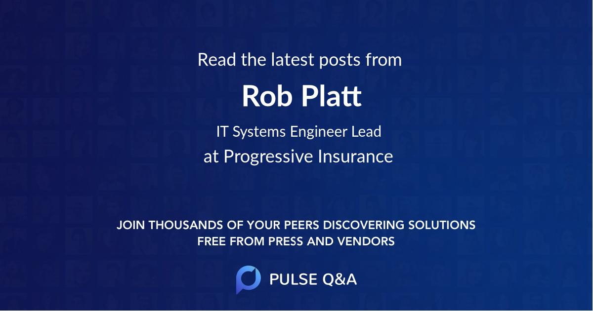 Rob Platt