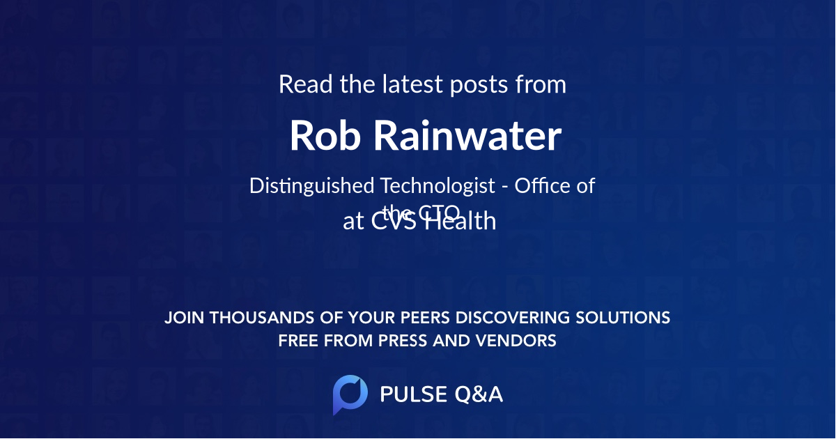 Rob Rainwater