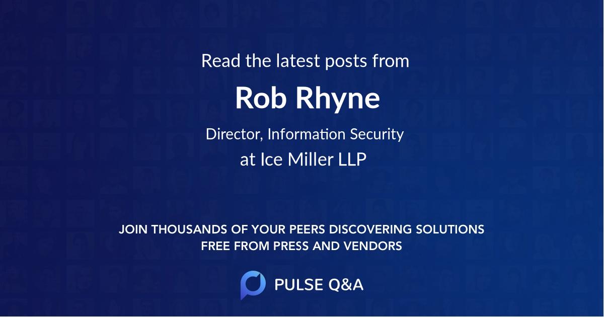 Rob Rhyne