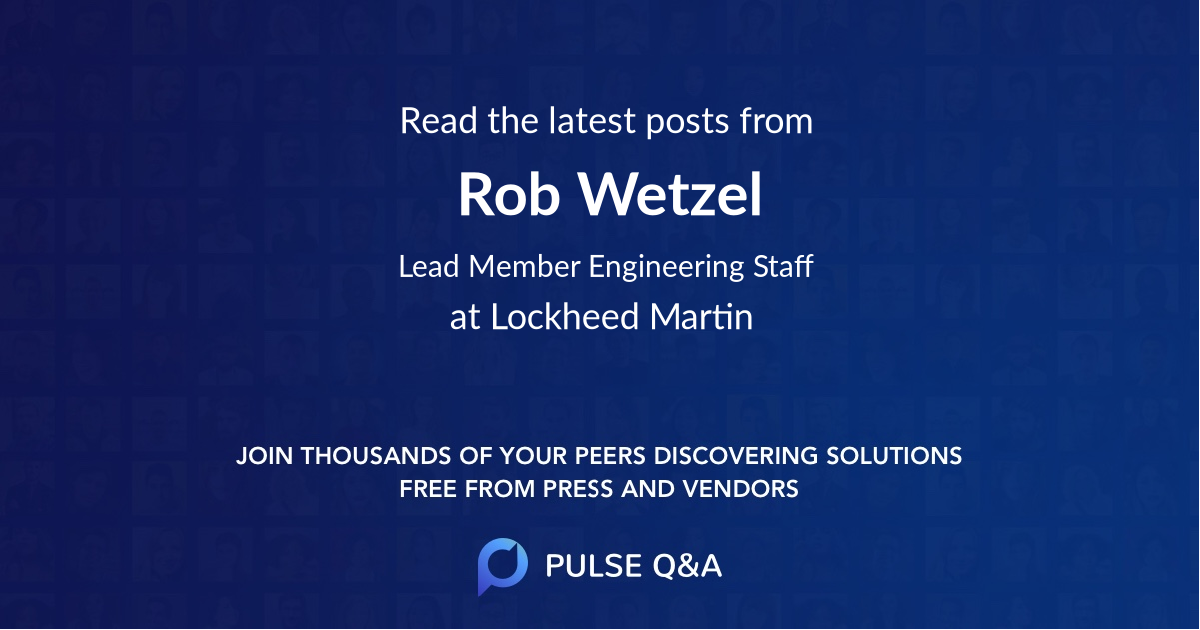 Rob Wetzel