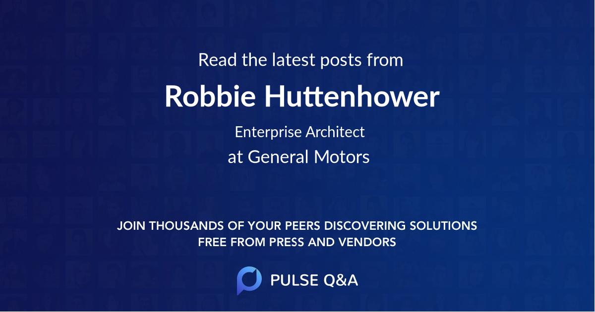 Robbie Huttenhower