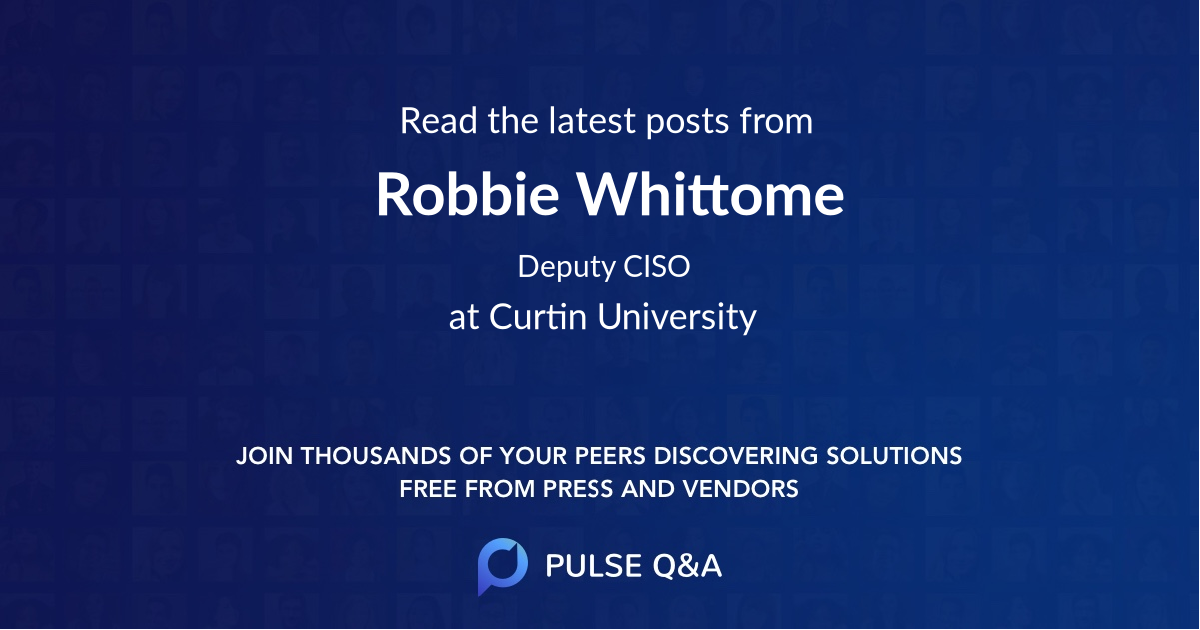 Robbie Whittome