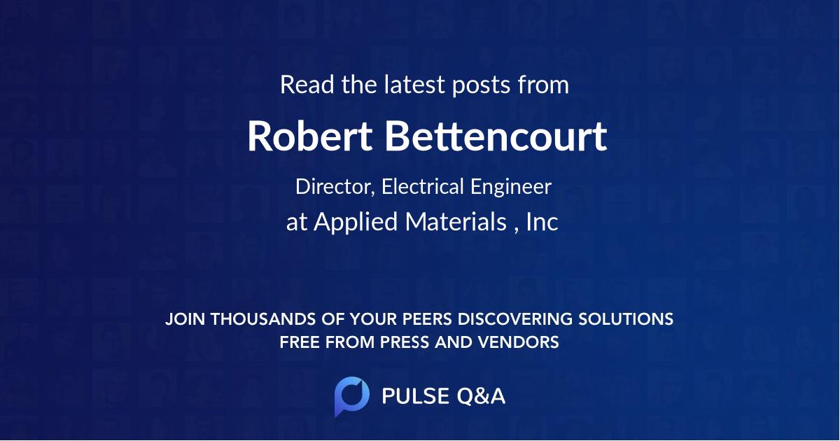 Robert Bettencourt