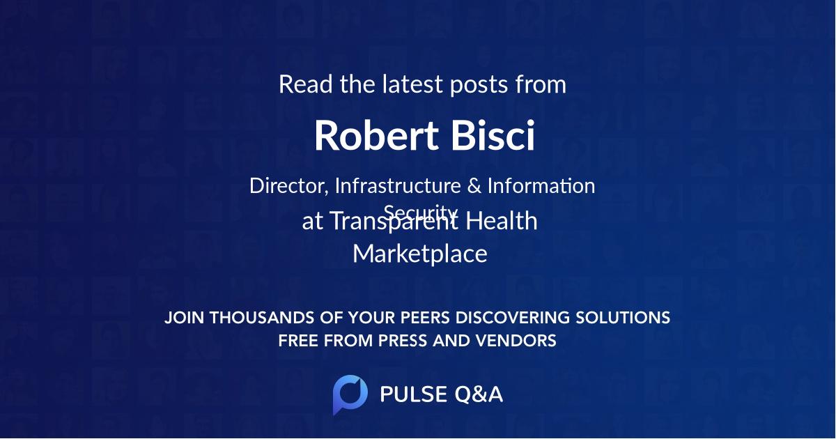 Robert Bisci
