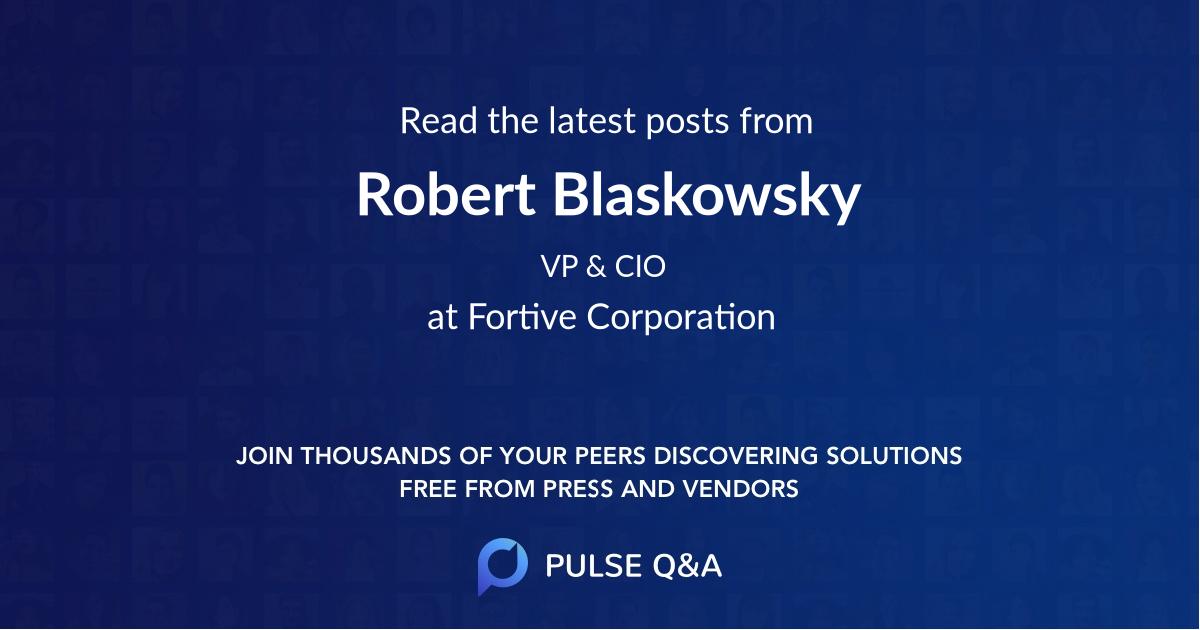 Robert Blaskowsky