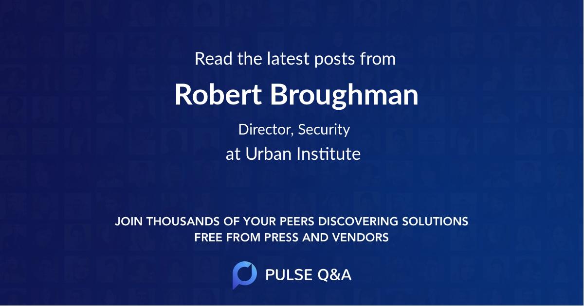 Robert Broughman