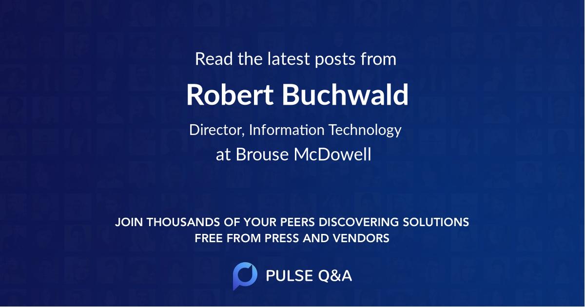 Robert Buchwald