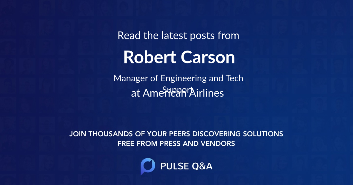 Robert Carson