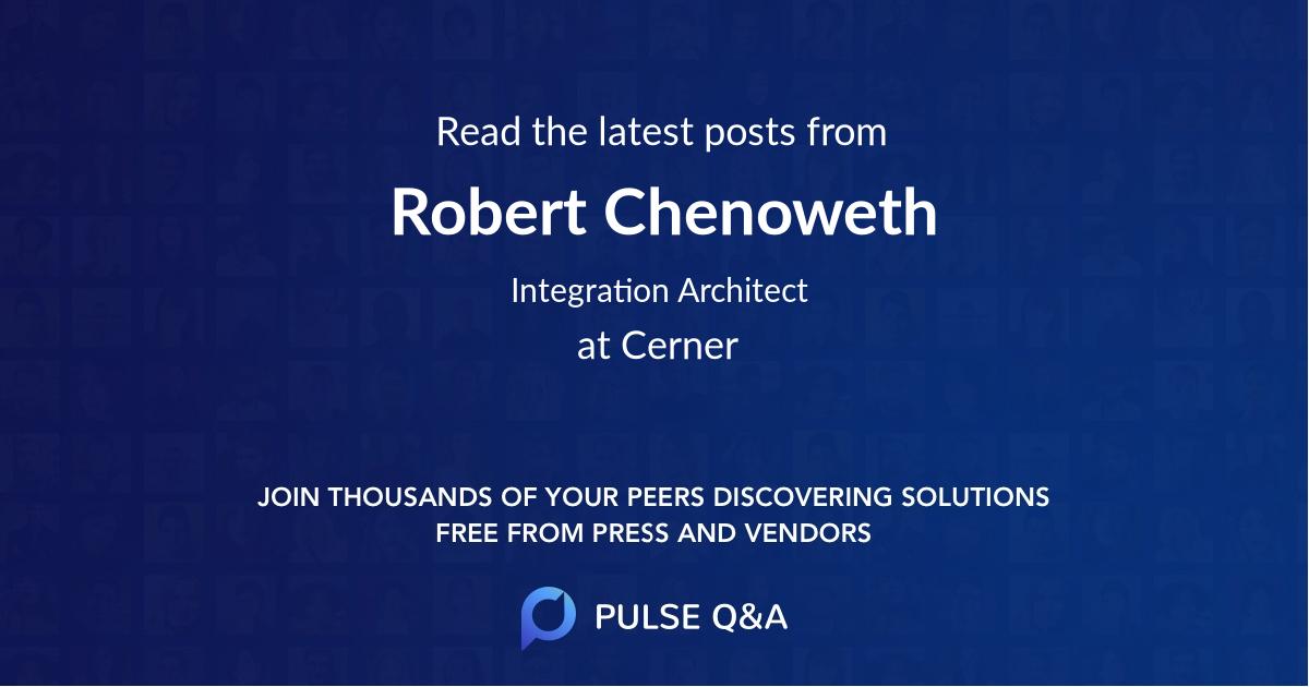 Robert Chenoweth