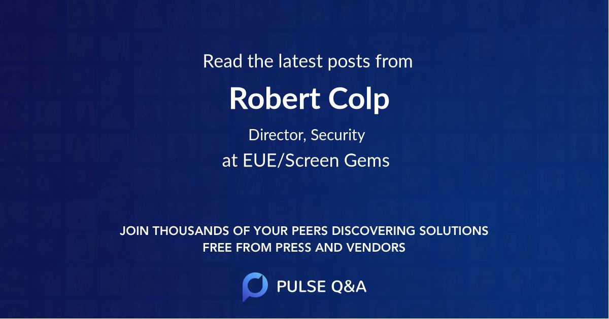 Robert Colp
