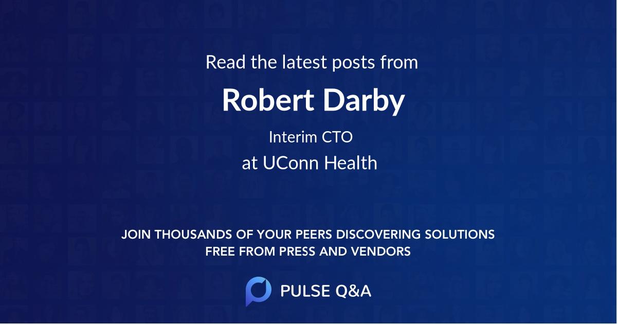 Robert Darby