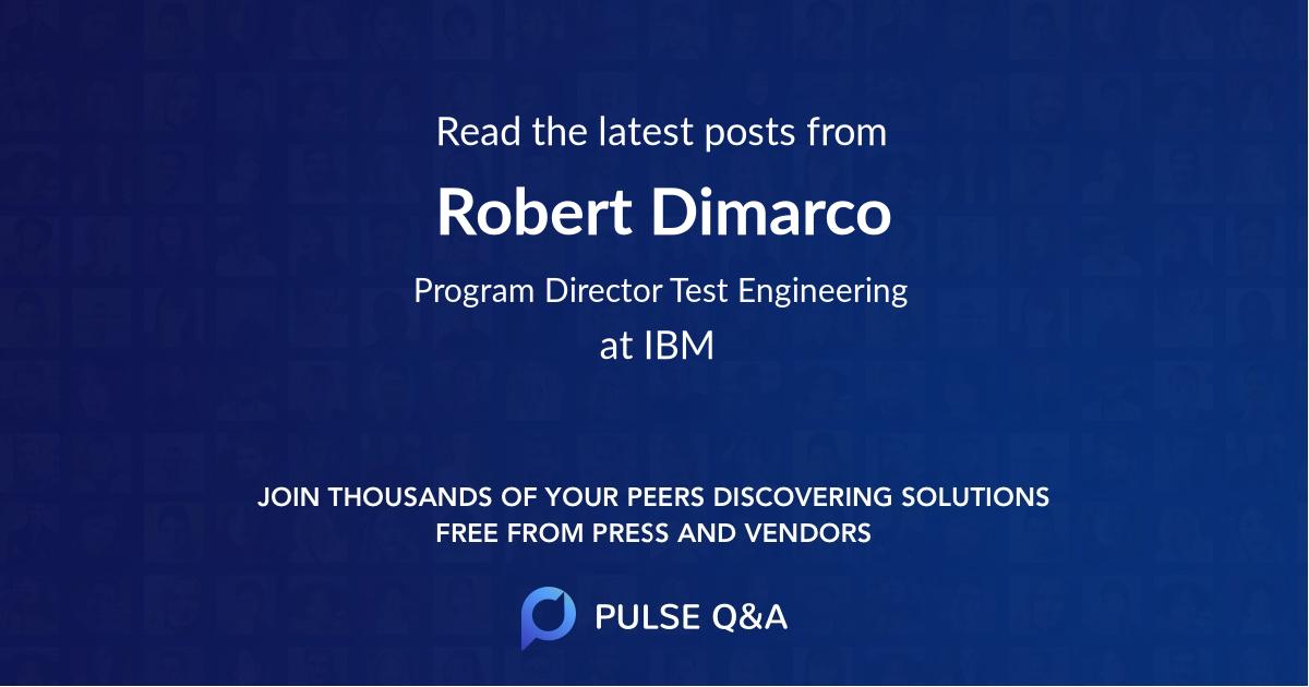 Robert Dimarco