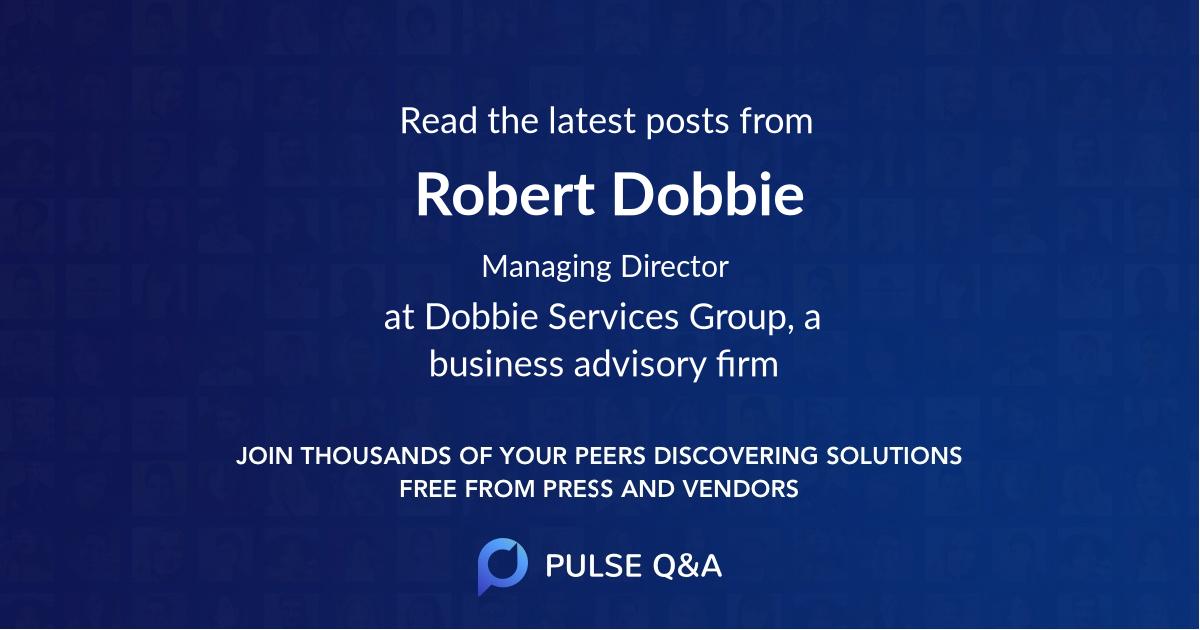Robert Dobbie