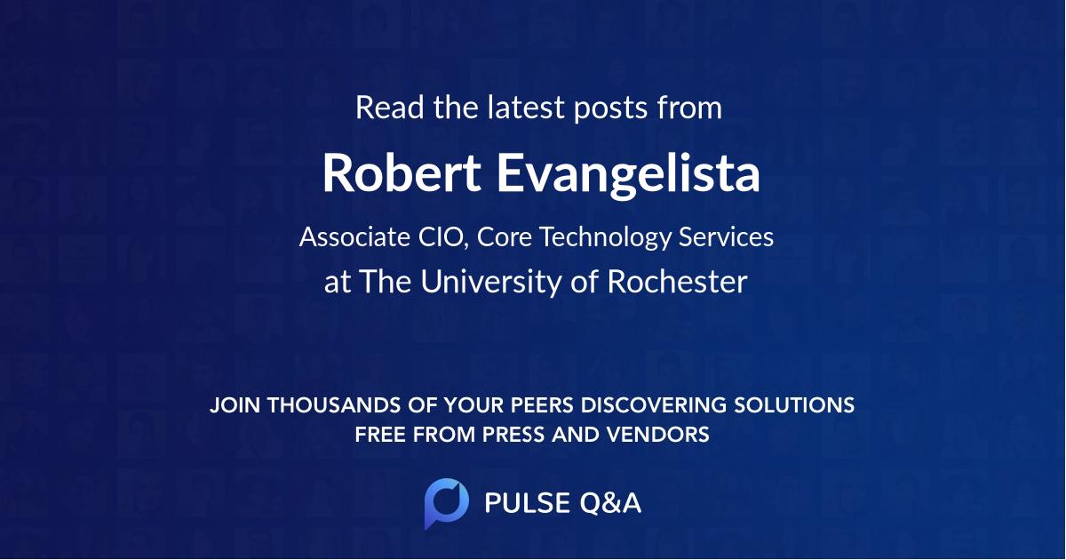 Robert Evangelista