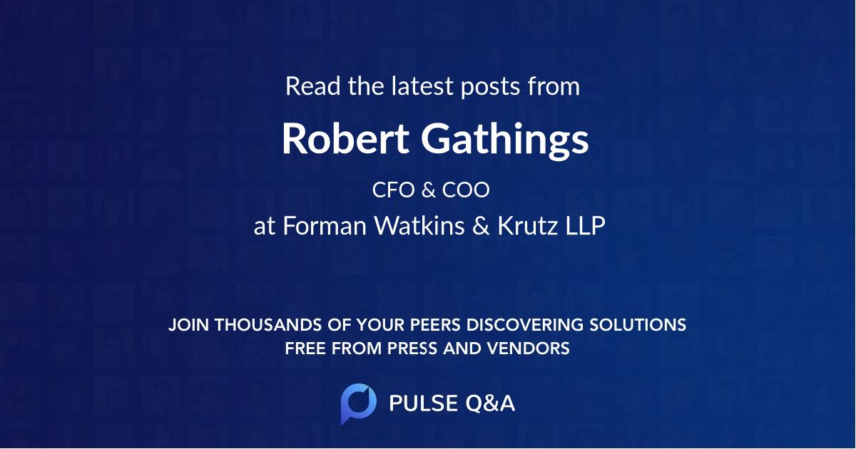 Robert Gathings