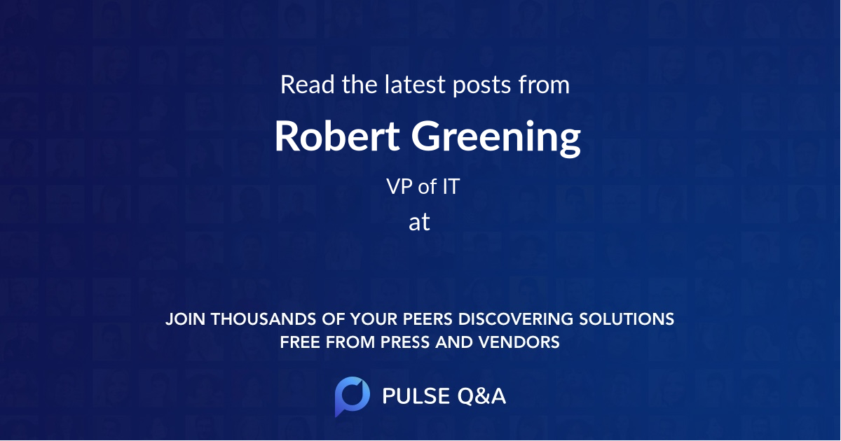 Robert Greening