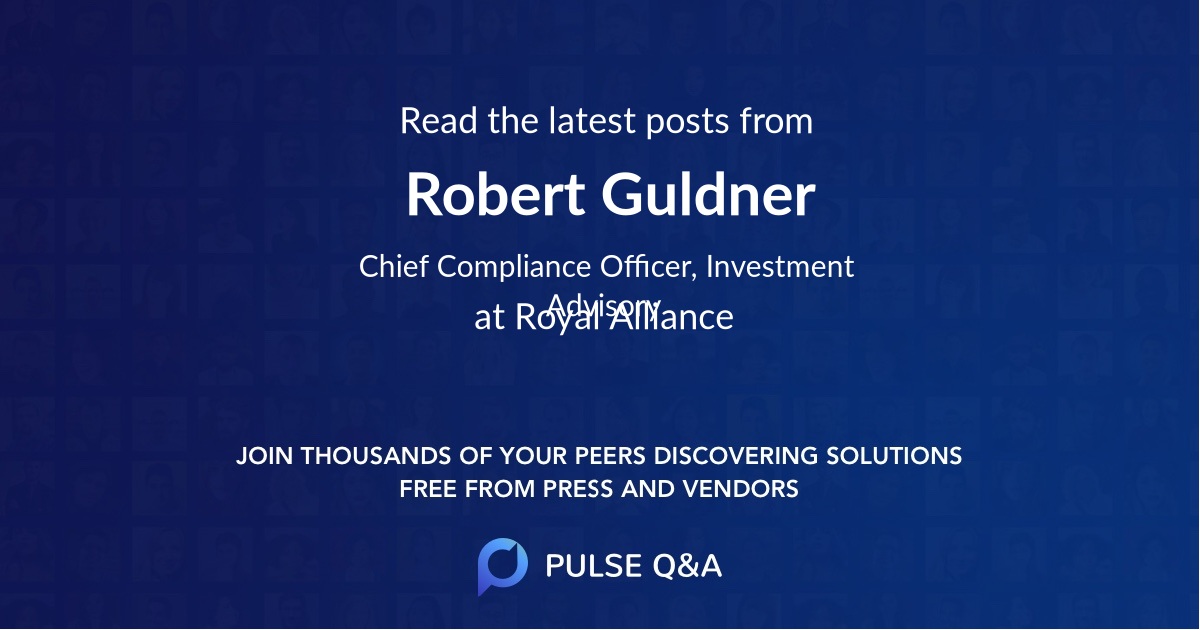 Robert Guldner