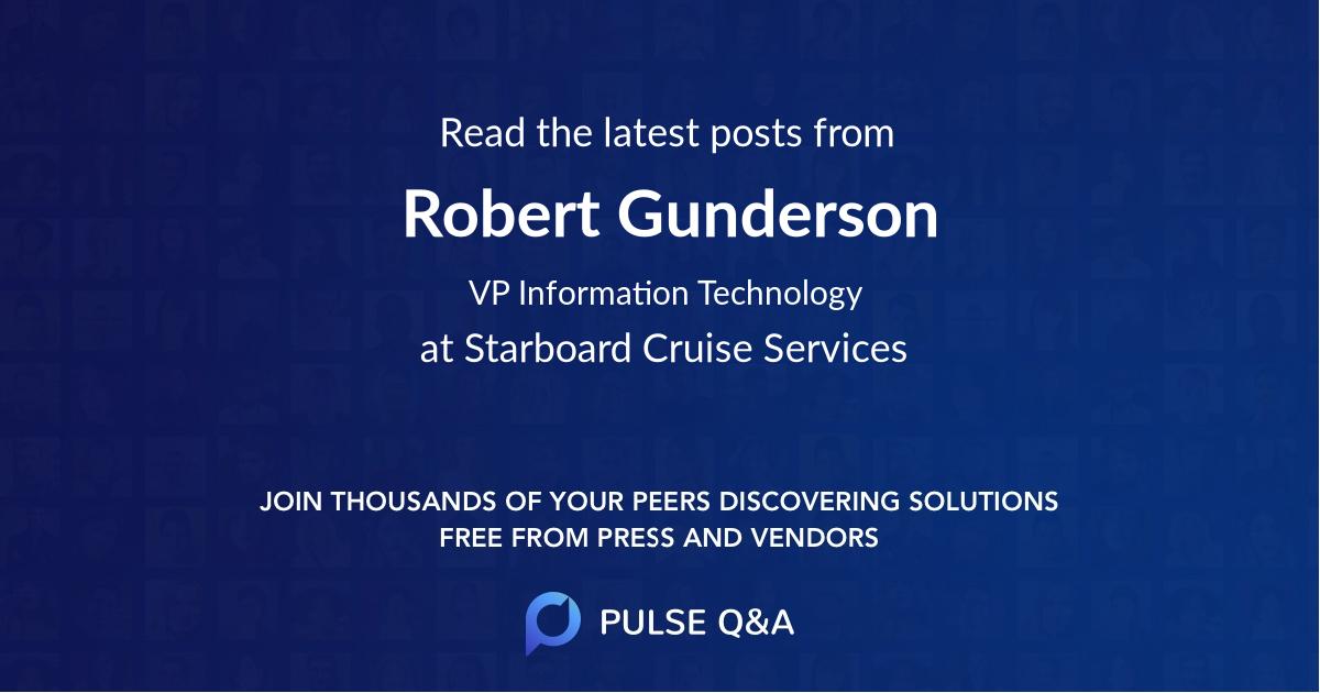 Robert Gunderson