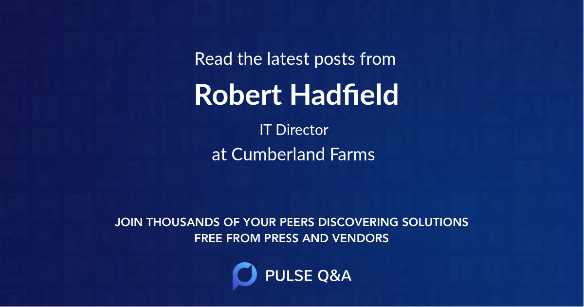 Robert Hadfield