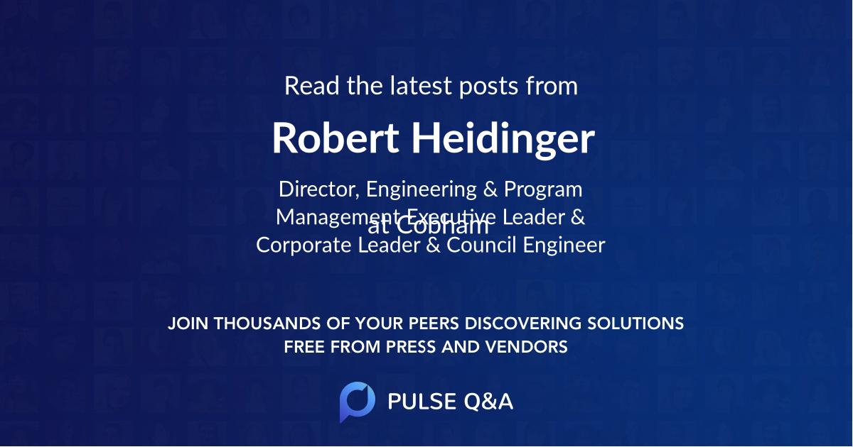 Robert Heidinger