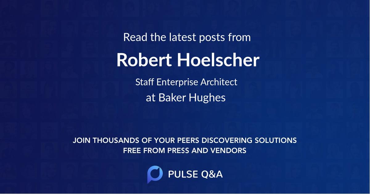 Robert Hoelscher