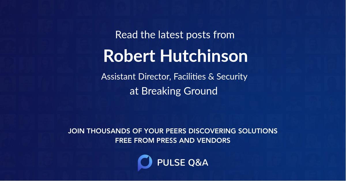 Robert Hutchinson
