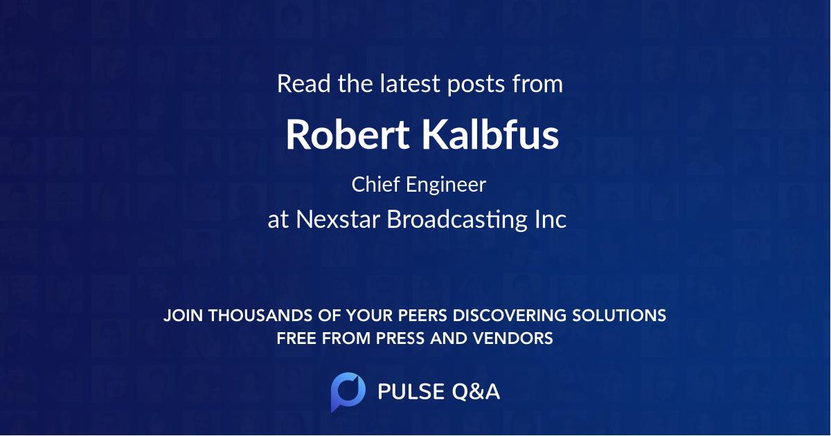 Robert Kalbfus