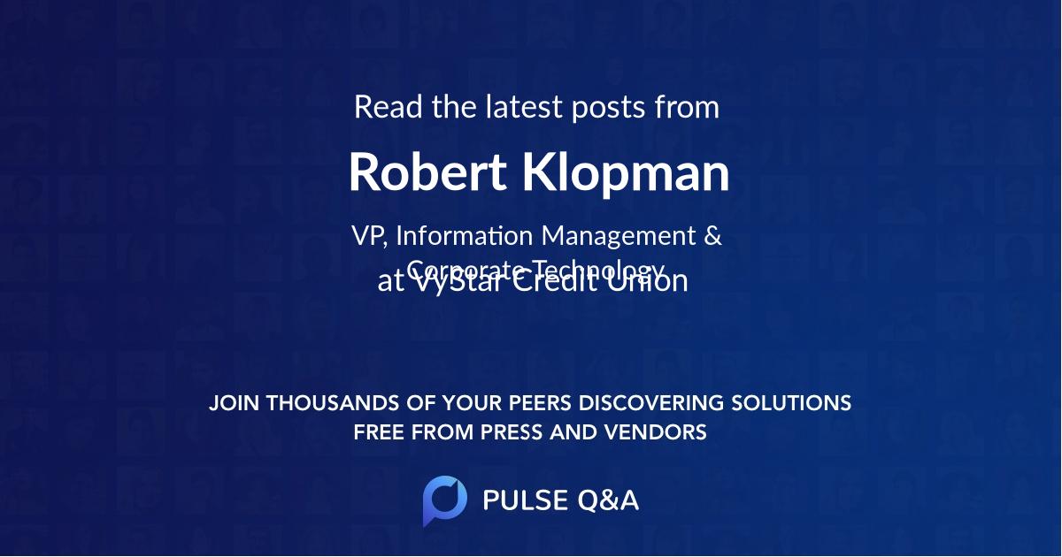 Robert Klopman