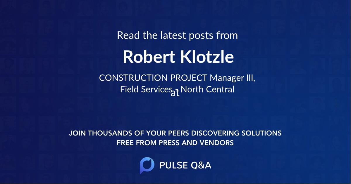 Robert Klotzle