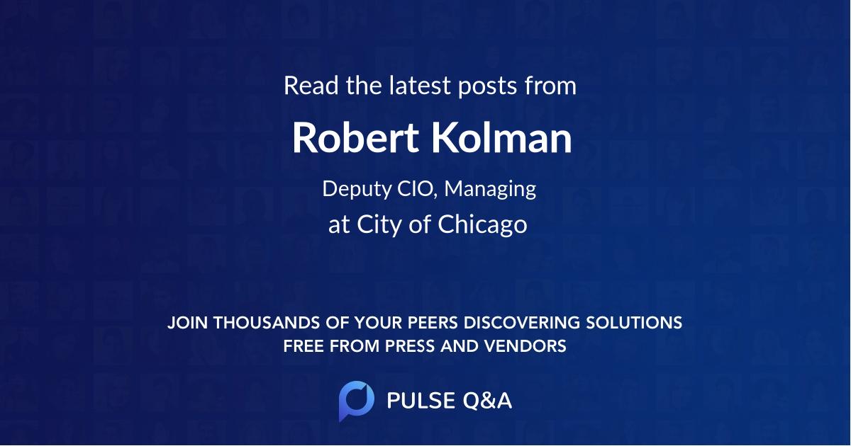 Robert Kolman