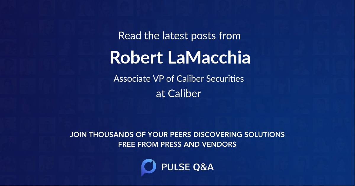 Robert LaMacchia