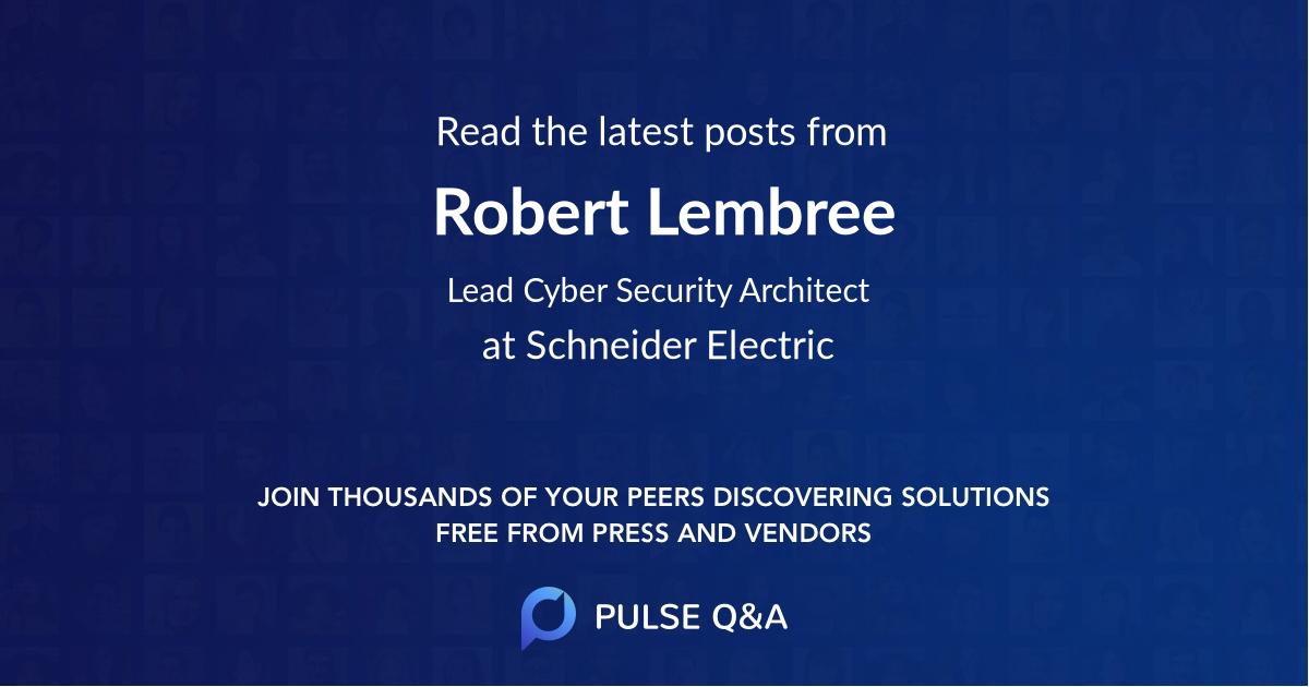 Robert Lembree