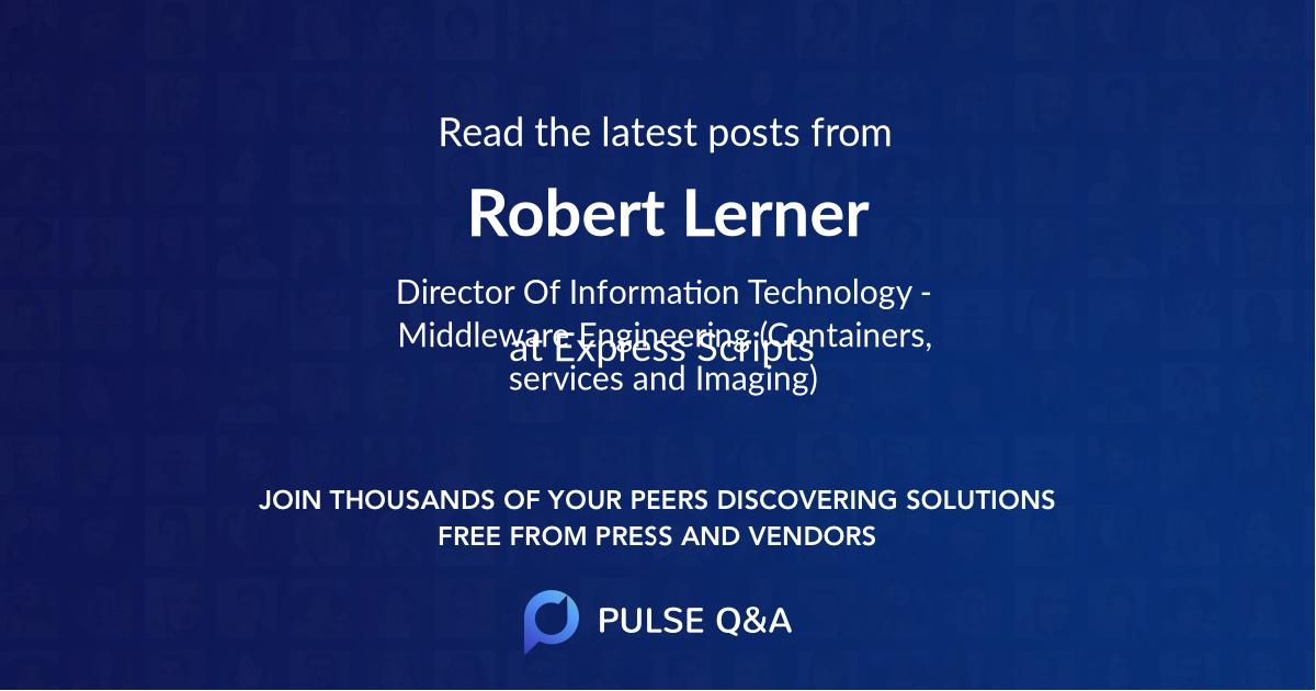 Robert Lerner