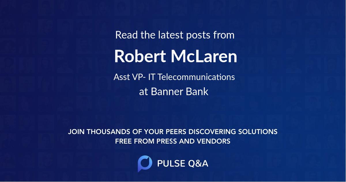 Robert McLaren