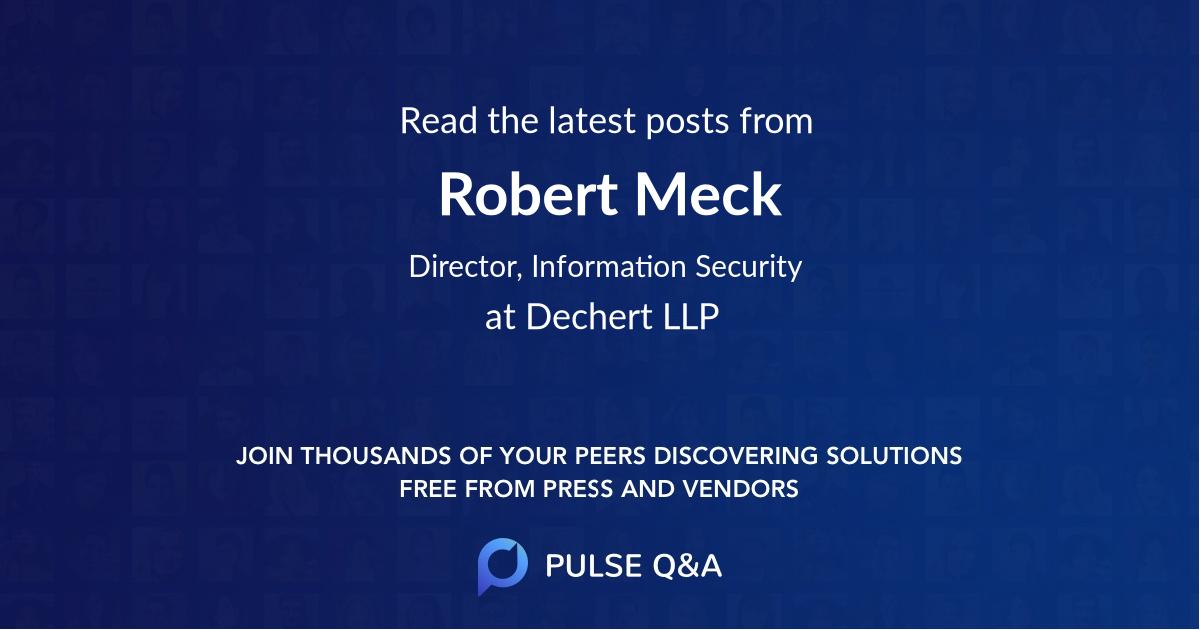 Robert Meck