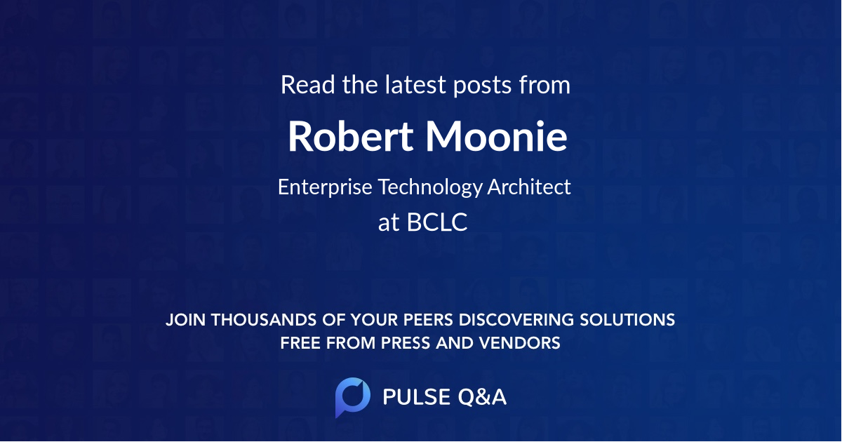 Robert Moonie