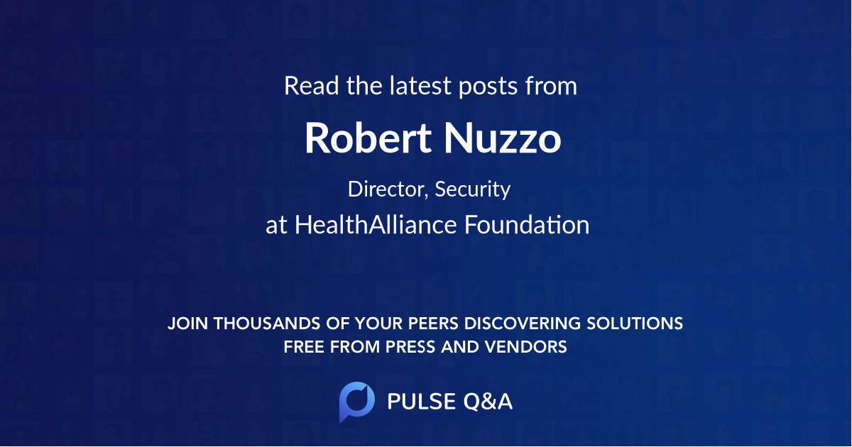 Robert Nuzzo