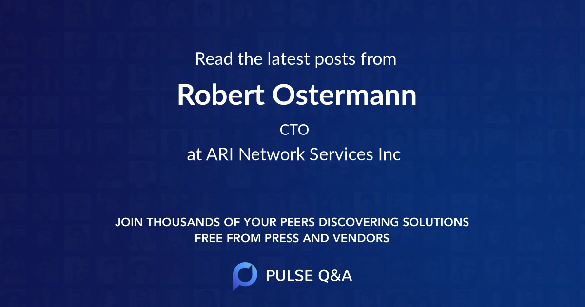 Robert Ostermann