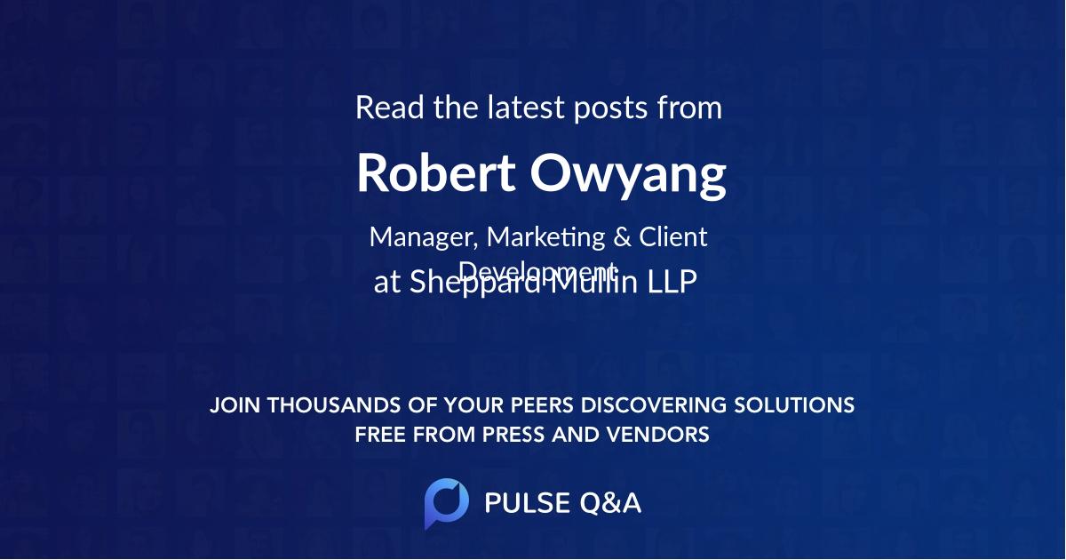 Robert Owyang