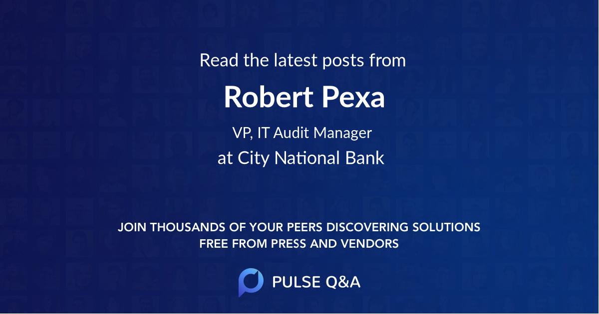 Robert Pexa