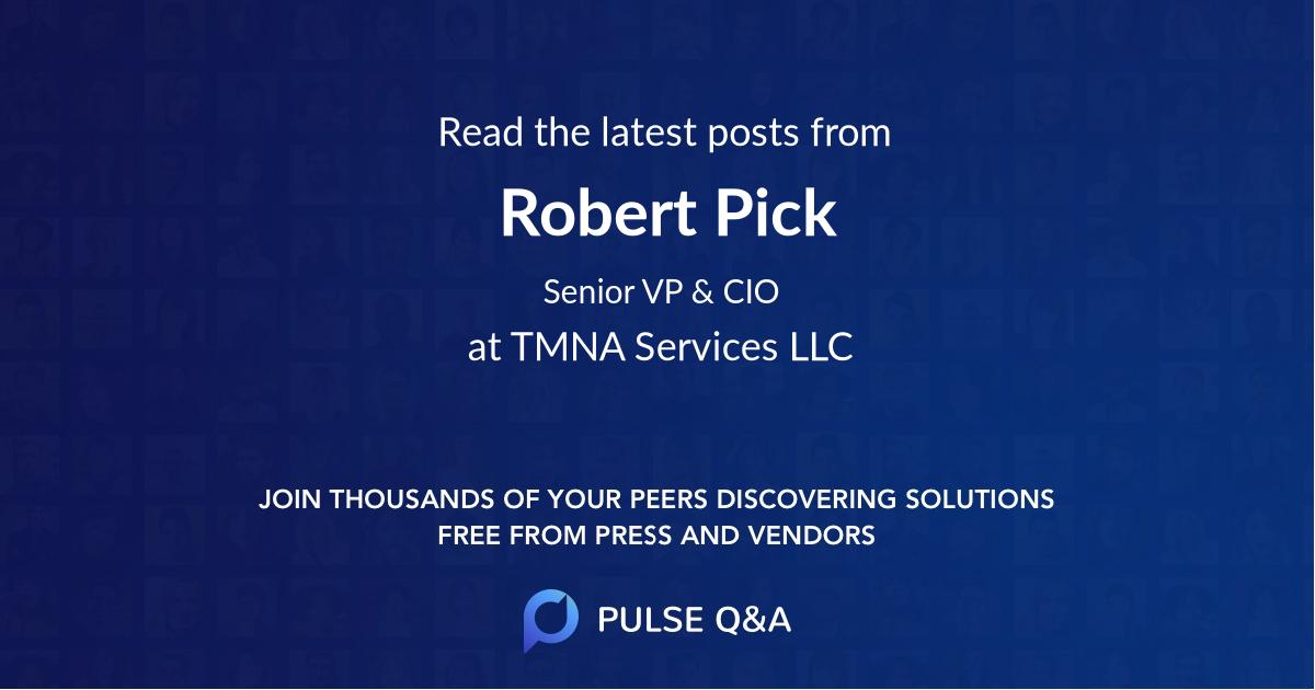 Robert Pick