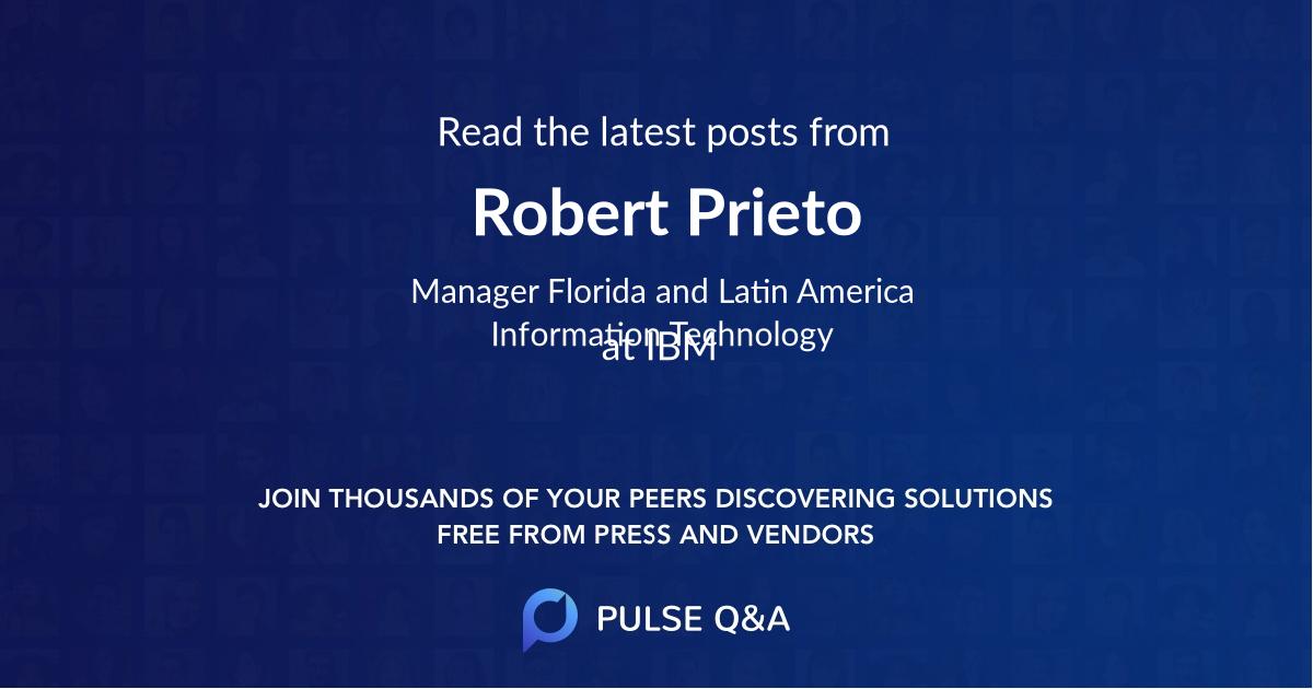 Robert Prieto